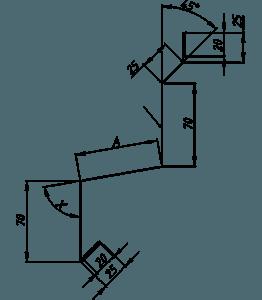 Цокольные фасонные элементы